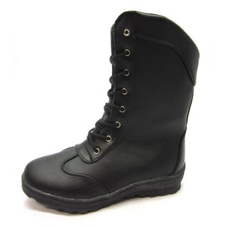 Blue Children's 'K-Bluth-P' Black Boots
