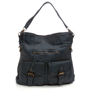 Cadet Blue Stitch Handbag
