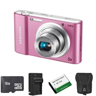 Samsung ST68 16.1MP Digital Camera with 16GB Bundle
