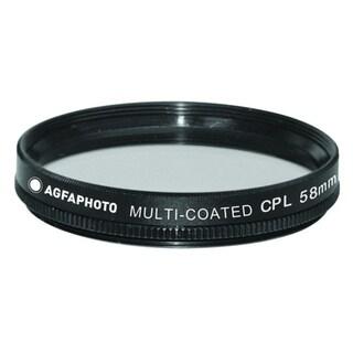 Agfa 58mm Digital Multi-Coated Circular Polarizing (CPL) Filter APCPF58