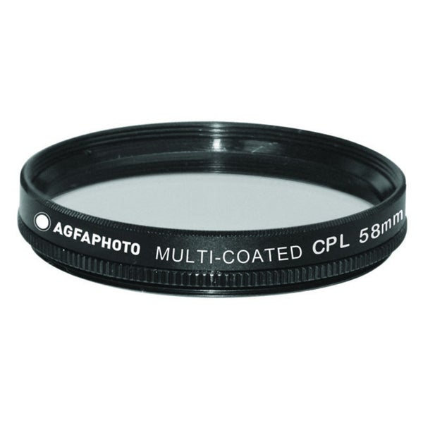 Agfa 58mm Digital Multi-Coated Circular Polarizing (CPL) Filter APCPF58