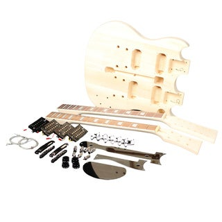 RAS Double Diablo Unfinished Electric Guitar Kit