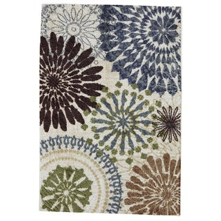 Floral Mix Multi Rug (5' x 8')