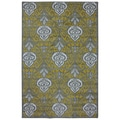 Yellow Ikat Rug (8' x 10')