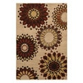 Hippie Chic Rust Rug (5'3 x 7'10)