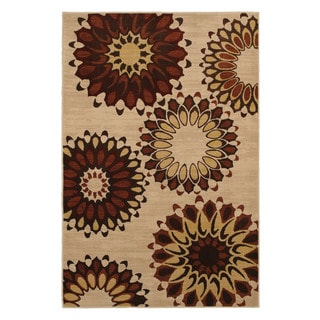 Hippie Chic Rust Rug (8' x 10')