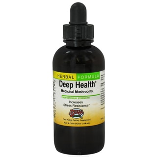 Deep Health Medicinal Mushrooms Professional Strength 4-ounce Dietary Supplement