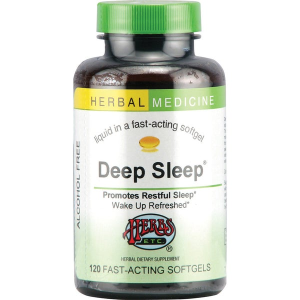 Deep Sleep Fast Acting Soft Gels (120 count)