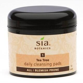 Sia Botanics Tea Tree Daily Cleanse Pads