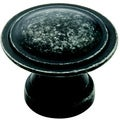 Amerock Two-ring Dark Weathered Iron Knobs (Pack of 5)