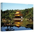 Linda Parker 'Kyoto's Golden Pavilion' Gallery-Wrapped Canvas