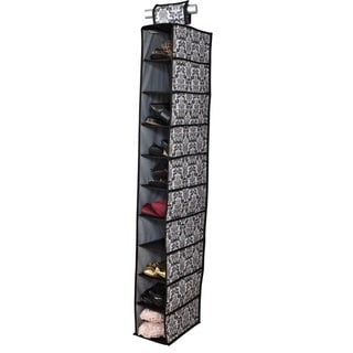 10-shelf Hanging Shoe Organizer