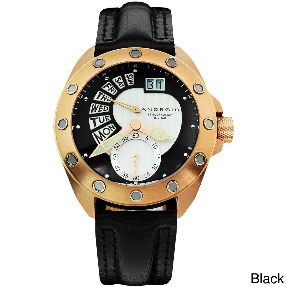 Android Men's 'Concept T' Swiss Retrograde Multi-function Watch at Sears.com