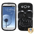 MYBAT Carbon Fiber/ Skull Case for Samsun Galaxy S III/ S3 i9300