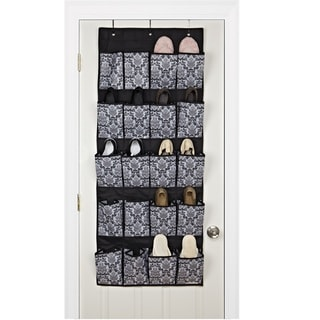 20-pocket Over the Door Shoe Organizer