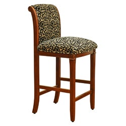 Leopard Animal Print Bar Stool