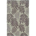 Hand-tufted Light Green Area Rug (5' x 7'9)