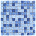 SomerTile 12 x 12-inch Watermark Square Aegean Porcelain Mosaic Tile (Pack of 10)
