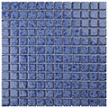 SomerTile 12 x 12-inch Watermark Square Catalan Porcelain Mosaic Tile (Pack of 10)