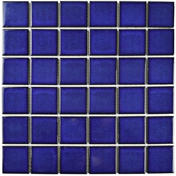 Somertile 11 875x11 875 Inch Ocean Square Bering Porcelain