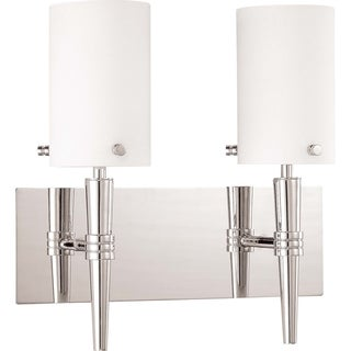 Nuvo Jet 2-light Polished Chrome Vanity Fixture