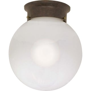 Nuvo Energy Saver 1-light Old Bronze Flush Mount