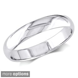 Miadora 10k Gold Men's Wedding Band