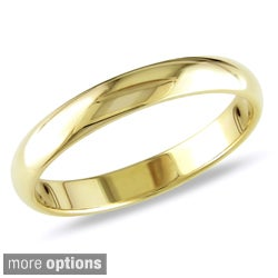 Miadora 10k Gold Women's Wedding Band