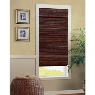 Bahama Bamboo Cordless Roman Shade