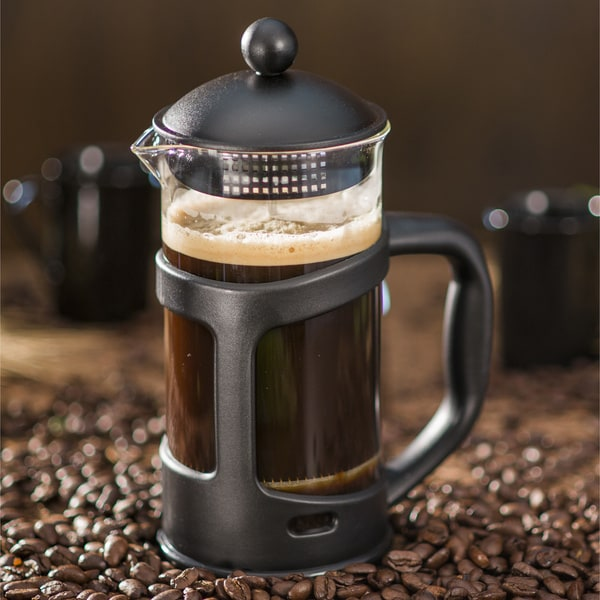 Ovente 27-Ounce Black French Press Coffee Maker