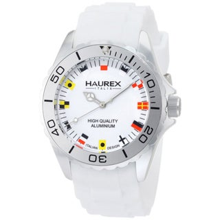 Haurex Italy Women's Aluminum White Dial Watch