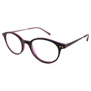 Kate Spade Readers Women's Cosette Oval Black/Violet Reading Glasses