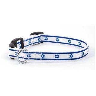 PatriaPet Israeli Flag Dog Collar