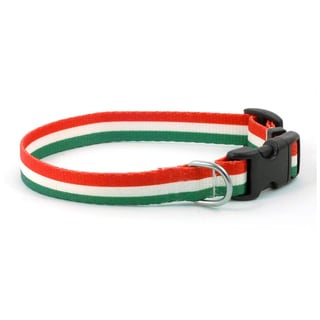 PatriaPet Hungarian Flag Dog Collar