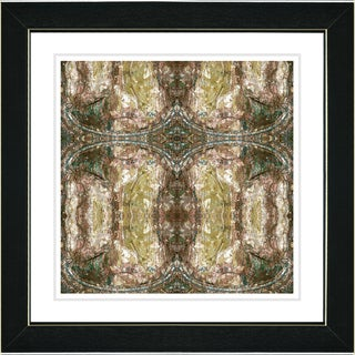 Studio Works Modern 'Golden Celtic Symmetry' Framed Print