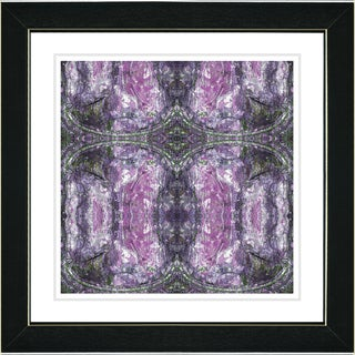 Studio Works Modern 'Purple Celtic Symmetry' Framed Print