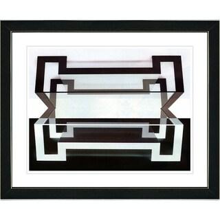 Studio Works Modern 'Hexnocular - I' Framed Print