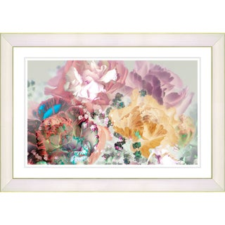 Studio Works Modern 'Scented Bloom - Pastel Rose' Framed Print
