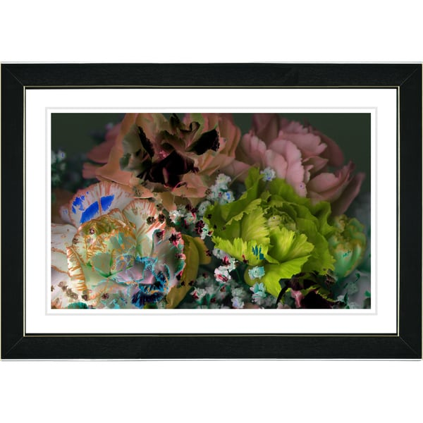 Studio Works Modern 'Scented Bloom - Peach' Framed Print