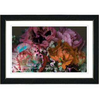 Studio Works Modern 'Scented Bloom - Pink' Framed Print