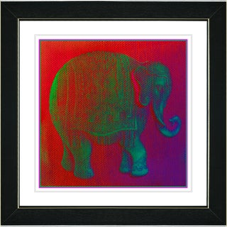 Studio Works Modern 'Babar in Green' Framed Print