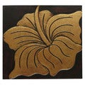 Hand-Carved 'Puc-Flower' Wall Panel (Indonesia)
