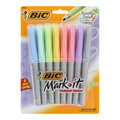 Bic Mark-it Paradise Pastels Permanent Fine Point Markers (Pack of 8)