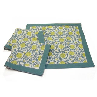 Ocean Tulip Napkins (Set of 4)