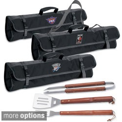 Picnic Time NBA Western Conference 3-piece BBQ Utensil Tote