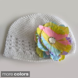 Bobitty Boo Megan Crochet Spring Colors Kufi Hat