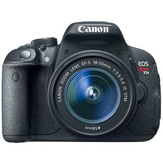 Canon EOS Rebel T5i 18MP Digital SLR Camera with 18-55mm Lens