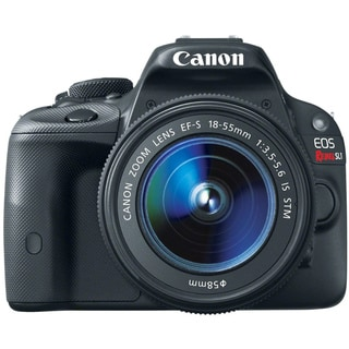 Canon EOS Rebel SL1 18MP Digital SLR Camera with 18-55mm Lens