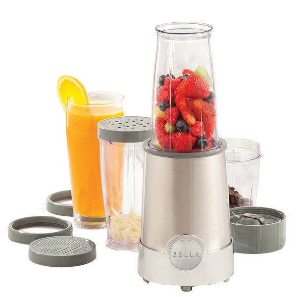 Bella Chrome 12-piece Rocket Blender
