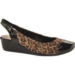 Women's AK Sport Durable Leopard Fabric
